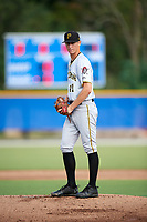 Pittsburgh Pirates pitcher Travis MacGregor (41) gets ready to deliver a pitch during an Instructional League game against the Toronto Blue Jays on October 14, 2017 at the Englebert Complex in Dunedin, Florida.  (Mike Janes/Four Seam Images)