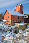 The Old Red Mill / Chittenden Mill, a National Historic Site, Jericho,