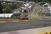 27th August 2021; Spa Francorchamps, Stavelot, Belgium: FIA F1 Grand Prix of Belgium, free practise: Charles Leclerc MCO 16 , Scuderia Ferrari Mission Winnow
