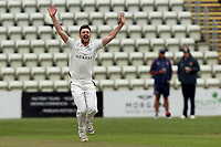 Ed Barnard of Worcestershire appeals for a wicket during Worcestershire CCC vs Essex CCC, LV Insurance County Championship Group 1 Cricket at New Road on 29th April 2021
