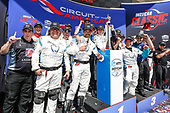 Colton Herta, Harding Steinbrenner Racing Honda, podium, team