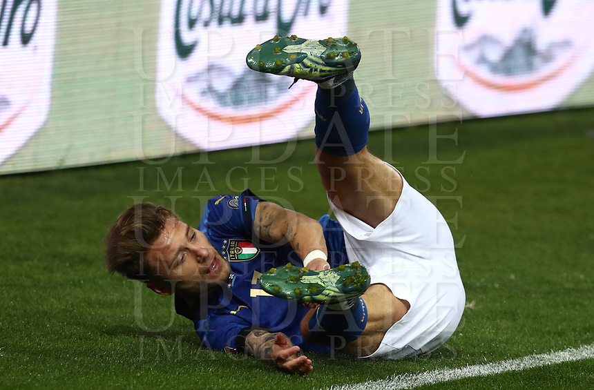 Footbal Soccer: FIFA World Cup Qatar 2022 Qualification, Italy - Northern Ireland, Ennio Tardini stadium, Parma, March 26, 2021.<br /> Italy's Ciro Immobile reacts during the FIFA World Cup Qatar 2022 qualification, football match between Italy and Northern Ireland, at Ennio Tardini stadium in Parma on March 26, 2021.<br /> UPDATE IMAGES PRESS/Isabella Bonotto