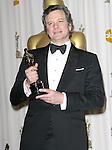 Colin Firth attends the 83rd Academy Awards held at The Kodak Theatre in Hollywood, California on February 27,2011                                                                               © 2010 DVS / Hollywood Press Agency