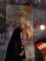 Kapelle St. Nino, Kloster Samtavro in Mzcheta, Georgien, Europa, UNESCO-Weltkulturerbe<br /> Chapel St. Nino, monastery Samtawro in Mzcheta,  Georgia, Europe, Heritage site