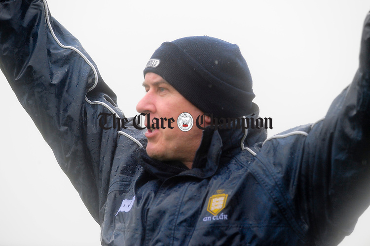 Frank Doherty.Pic Arthur Ellis. NFL Clare v Wicklow at Cusack Park.Pic Arthur Ellis.