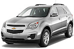 Front three quarter view of a 2012, Chevrolet,Equinox,LT.