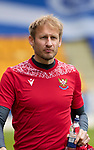 St Johnstone Training...14.05.21<br />Keeper Zdenek Zlamal signed on an emergency loan deal pictured during training at McDiarmid Park this morning ahead of tomorrows final league game of the season against Livingston.<br />Picture by Graeme Hart.<br />Copyright Perthshire Picture Agency<br />Tel: 01738 623350  Mobile: 07990 594431