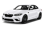 2020 BMW m2 competition Base 2 Door Coupe angular front stock photos of front three quarter view