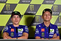 Montmelo' (Spagna) 09-06-2017 Free Practice Moto GP Spagna foto Luca Gambuti/Image Sport/Insidefoto<br /> nella foto: Maverick Vinales-Valentino Rossi
