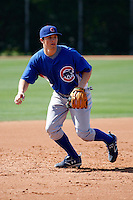 Josh Vitters - Chicago Cubs - 2009 spring training.Photo by:  Bill Mitchell/Four Seam Images