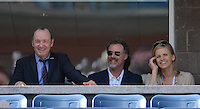 FLUSHING NY- SEPTEMBER 9: Kevin Spacey, Will Ferrell and his wife are sighted watching Novak Djokovic Vs David Ferrer in the mens semi finals on Arthur Ashe Stadium at the USTA Billie Jean King National Tennis Center on September 9, 2012 in in Flushing Queens. Credit: mpi04/MediaPunch Inc. ***NO NY NEWSPAPERS*** /NortePhoto.com<br /> <br /> **CREDITO*OBLIGATORIO** *No*Venta*A*Terceros*<br /> *No*Sale*So*third*...