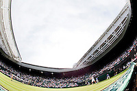 24-6-09, England, London, Wimbledon, Centercourt with retractable roof
