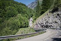 crazy roads<br /> <br /> stage 7: Aoste > Alpe d'Huez (168km)<br /> 69th Critérium du Dauphiné 2017