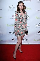 """BEVERLY HILLS, CA, USA - MARCH 13: Aly Michalka at the Alessandra Ambrosio Launch of """"ale by Alessandra"""" held at Planet Blue on March 13, 2014 in Beverly Hills, California, United States. (Photo by David Acosta/Celebrity Monitor)"""