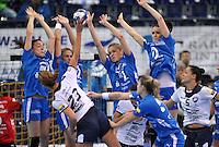 13.10.2013 Handball CL HC Leipzig vs. Krim @ Arena Leipzig