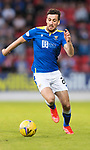 St Johnstone v Lask…26.08.21  McDiarmid Park    Europa Conference League Qualifier<br />Callum Booth<br />Picture by Graeme Hart.<br />Copyright Perthshire Picture Agency<br />Tel: 01738 623350  Mobile: 07990 594431