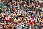 03 October 2010.  Spectators cheer on the United States competitors.