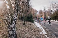 peloton<br /> <br /> 76th Paris-Nice 2018<br /> stage 5: Salon-de-Provence > Sisteron (165km)