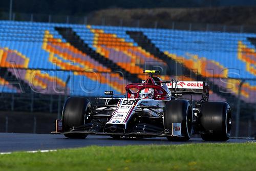 13th November 2020; Istanbul Park, Istanbul, Turkey; FIA Formula One World Championship 2020, Grand Prix of Turkey, Free practise sessions; 99 Antonio Giovinazzi ITA, Alfa Romeo Racing ORLEN