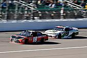 #18: Ryan Preece, Joe Gibbs Racing, Toyota Camry Craftsman and #9: Tyler Reddick, JR Motorsports, Chevrolet Camaro BurgerFi