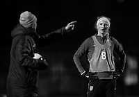 Vancouver, Canada - November 8, 2017: The USWNT trains in preparation for their friendly against Canada at BC Place.Vancouver, Canada - November 5, 2017: The USWNT trains in preparation for their friendly against Canada in Vancouver.
