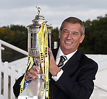 SFA President Campbell Ogilvie with the Scottish Cup