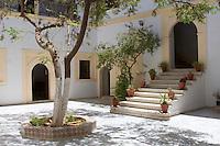 Tripoli, Libya - Former British Consulate Courtyard, 19th Century, Tripoli Medina