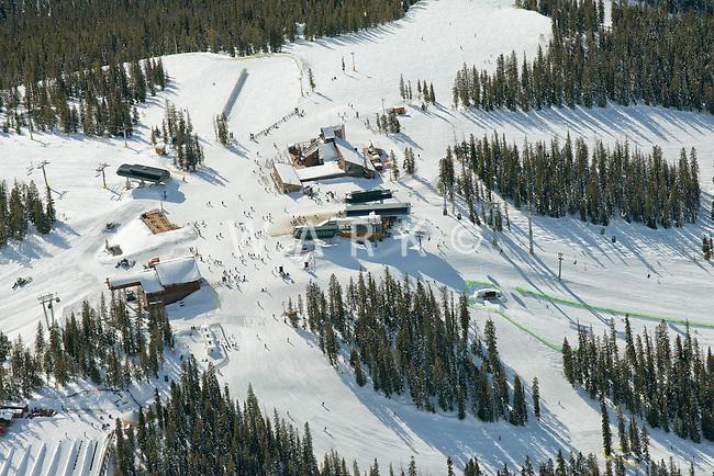 Top of Keystone Ski Area, Summit Express Lift. March 2014