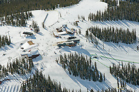 Top of Keystone Ski Area, Summit Express Lift. March 2014
