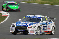 Rounds 3 of the 2021 British Touring Car Championship. #16 Aiden Moffat. Laser Tools Racing. Infiniti Q50.