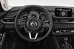 Car pictures of steering wheel view of a 2019 Mazda Mazda6 Sport 4 Door Sedan