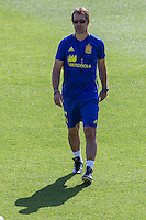 Spanish coach Julen Lopetegui during the second training of the concentration of Spanish football team at Ciudad del Futbol de Las Rozas before the qualifying for the Russia world cup in 2017 August 30, 2016. (ALTERPHOTOS/Rodrigo Jimenez) /NORTEPHOTO