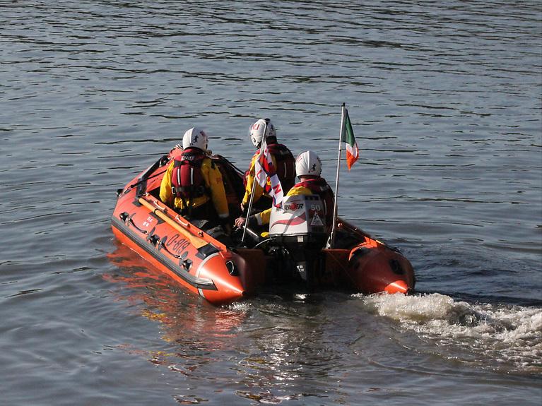 Fethard RNLI's D-Class lifeboat Naomh Dubhán