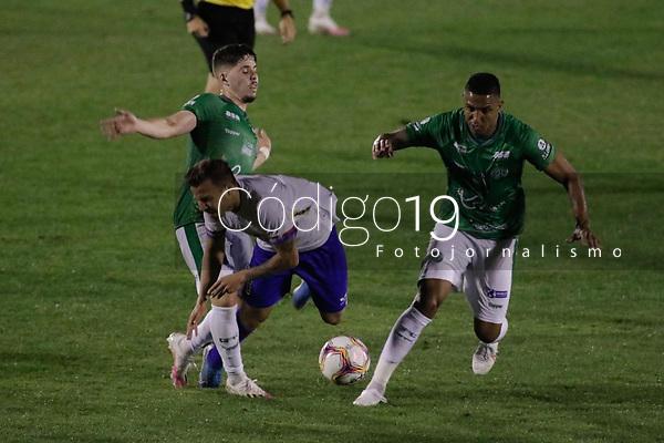 Campinas (SP), 18/08/2020 - Guarani - Paraná - Partida entre Guarani e Paraná pelo Campeonato Brasileiro 2020 da série B, nesta terça-feira (18), no Estádio Brinco de Ouro, em Campinas (SP).
