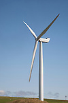 Wind Turbine in Sanday on the Orkney Islands, Scotland