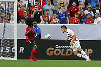 CLEVELAND, OHIO - JUNE 22: Aaron Long #23 during a 2019 CONCACAF Gold Cup group D match between the United States and Trinidad & Tobago at FirstEnergy Stadium on June 22, 2019 in Cleveland, Ohio.
