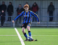 Club Brugge Dames - Rassing Harelbeke : Jolien Nuytten.foto DAVID CATRY / Vrouwenteam.Be