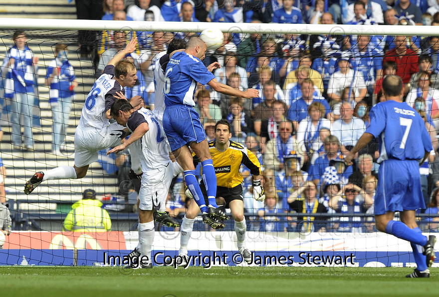 24/05/2008   Copyright Pic: James Stewart.File Name : sct_jspa18_qots_v_rangers.JIM THOMSON SCORES QUEEN'S SECOND.James Stewart Photo Agency 19 Carronlea Drive, Falkirk. FK2 8DN      Vat Reg No. 607 6932 25.Studio      : +44 (0)1324 611191 .Mobile      : +44 (0)7721 416997.E-mail  :  jim@jspa.co.uk.If you require further information then contact Jim Stewart on any of the numbers above........