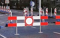 Nederland  Amsterdam   2021.   Verboden in te rijden.   Foto Berlinda van Dam / HH / ANP.
