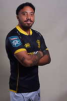 Pepesana Patafilo. 2021 Wellington Lions official rugby headshots at Rugby League Park in Wellington, New Zealand on Monday, 26 July 2021. Photo: Dave Lintott / lintottphoto.co.nz