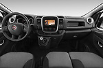 Stock photo of straight dashboard view of 2017 Fiat Talento Pack 4 Door Cargo Van Dashboard