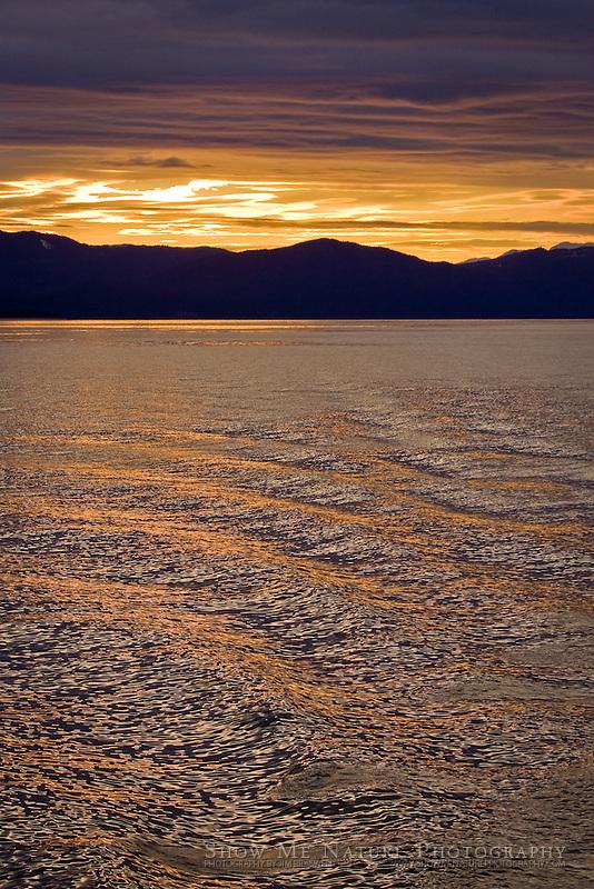 """""""Sunset from Ferry"""", Alaska"""