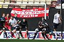 Joel Byrom of Preston shoots<br />  - Preston North End v Stevenage - Sky Bet League One - Deepdale, Preston - 14th September 2013. <br /> © Kevin Coleman 2013