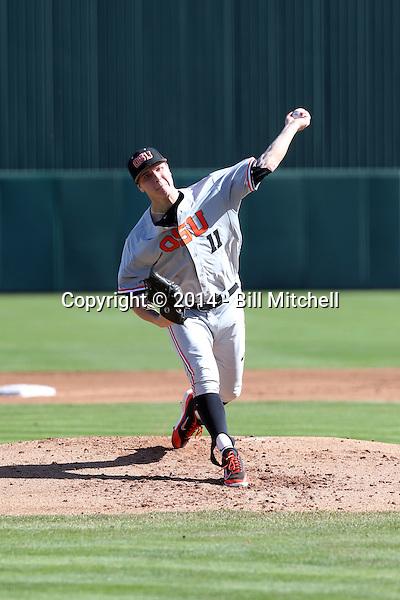 Jace Fry - 2014 Oregon State Beavers (Bill Mitchell)