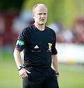 Referee Matt Northcroft ...