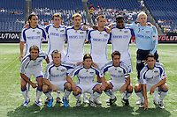 Kansas City Wizards starting XI. The New England Revolution and the Kansas City Wizards played to a 0-0 tie during an MLS regular season match at Gillette Stadium in Foxborough, MA, on July 11, 2009.