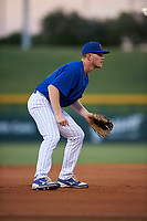 AZL Cubs 1 third baseman Ryan Reynolds (17) during an Arizona League game against the AZL Padres 1 on July 5, 2019 at Sloan Park in Mesa, Arizona. The AZL Cubs 1 defeated the AZL Padres 1 9-3. (Zachary Lucy/Four Seam Images)