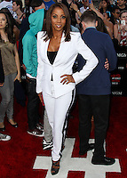 WESTWOOD, LOS ANGELES, CA, USA - JUNE 10: Holly Robinson Peete at the World Premiere Of Columbia Pictures' '22 Jump Street' held at the Regency Village Theatre on June 10, 2014 in Westwood, Los Angeles, California, United States. (Photo by Xavier Collin/Celebrity Monitor)