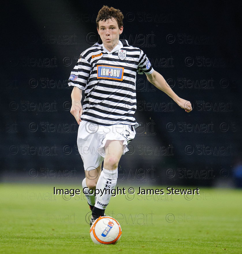 Andy Robertson : Queen's Park FC ........29/08/2012   Copyright  Pic : James Stewart.jsp047_qp_v_dundee   .James Stewart Photography 19 Carronlea Drive, Falkirk. FK2 8DN      Vat Reg No. 607 6932 25.Telephone      : +44 (0)1324 570291 .Mobile              : +44 (0)7721 416997.E-mail  :  jim@jspa.co.uk.If you require further information then contact Jim Stewart on any of the numbers above........
