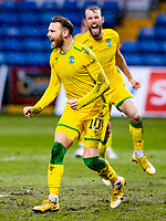 13th March 2021; Global Energy Stadium, Dingwall, Highland, Scotland; Scottish Premiership Football, Ross County versus Hibernian; Martin Boyle of Hibernian celebrates after scoring equalising goal fore 1-1 in the 52nd minute